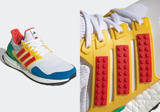 Another Multi-color LEGO x adidas UltraBOOST Arrives Soon