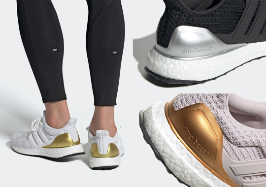 """adidas Gears Up For The Olympics With The UltraBOOST 4.0 """"Medal"""" Pack"""
