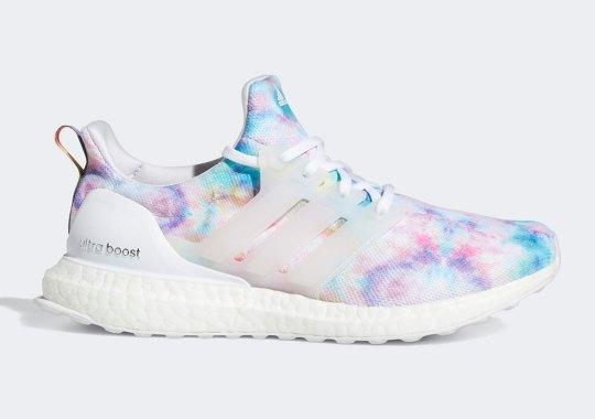 Groovy Tie Dye Patterns Appear On The adidas UltraBOOST 4.0