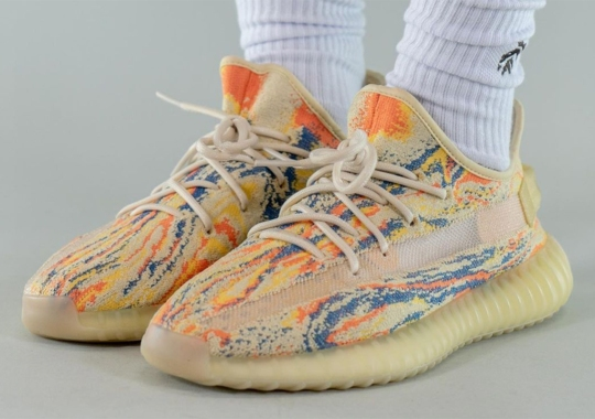 """On-Foot Look At The adidas YEEZY BOOST 350 V2 """"MX Oat"""""""