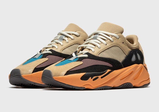 """Where To Buy The adidas Yeezy Boost 700 """"Enflame Amber"""""""