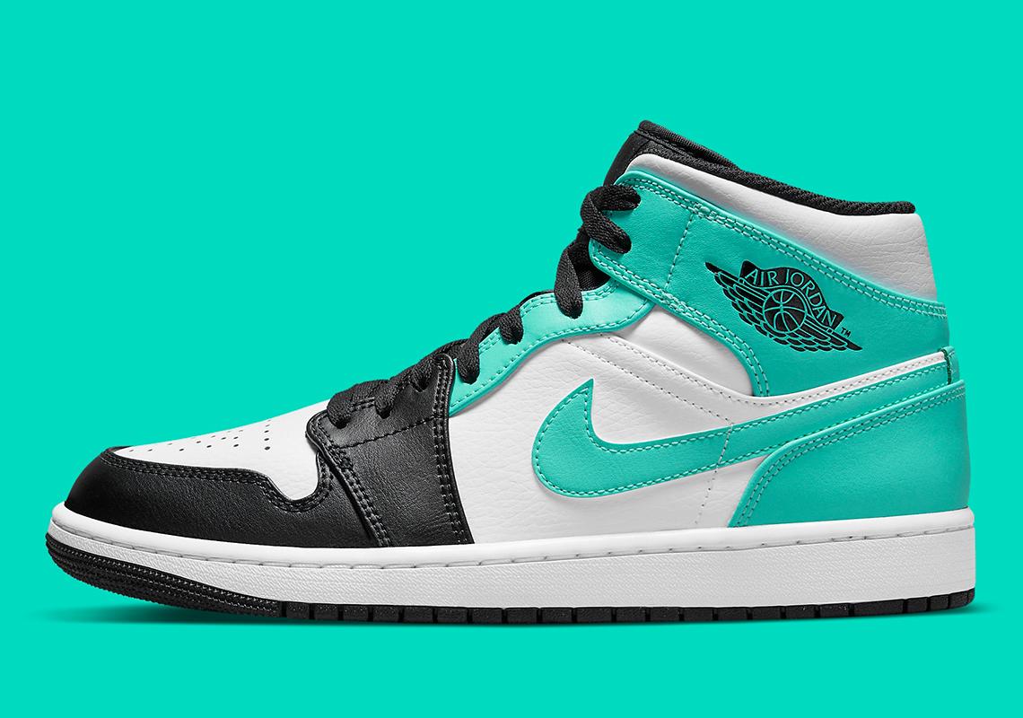 Air Jordan 1 Mid Tropical Twist 554724-132 | SneakerNews.com
