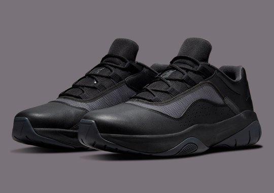 The Air Jordan 11 CMFT Low Goes Triple Black