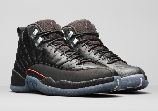 Utilizing Grind, The Air Jordan 12 Joins The Brand's Sustainability Movement