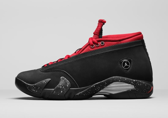 This Women's-Exclusive Air Jordan 14 Low Is Inspired By Red Lipstick