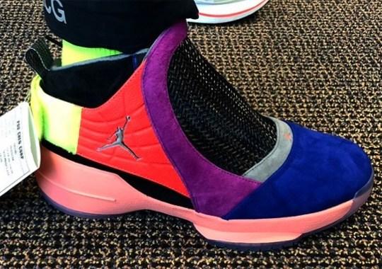 "Unreleased Air Jordan 19 ""Multi-Color"" Sample Revealed"