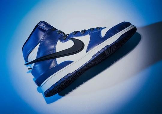 "The AMBUSH x Nike Dunk High ""Deep Royal Blue"" Releases Tomorrow"