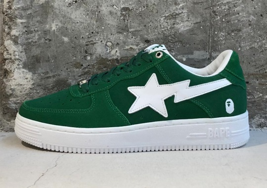 A Suede Pack Of Bapestas Are Releasing At The End Of June