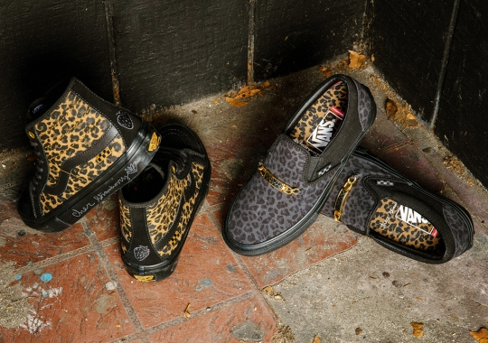 Trans Skate Icon Cher Strauberry Gives Two Vans Silhouettes A Wild Cheetah Print Remix