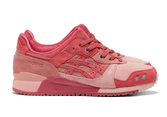 """Concepts Hones In On The Global Obsession Of Tuna With Their ASICS GEL Lyte III """"Otoro"""""""