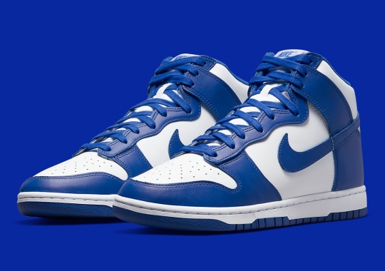 """Where To Buy The Nike Dunk High """"Game Royal"""""""