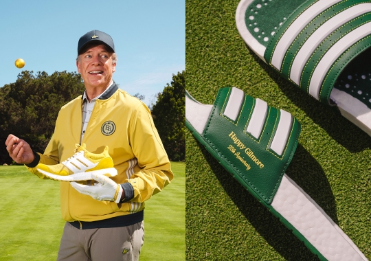 Don't Miss Out On The Extra Butter x Happy Gilmore x adidas Golf Collection Or You'll Pay