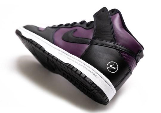 "Where To Buy The fragment design x Nike Dunk High ""Beijing"""