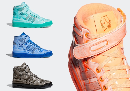 Jeremy Scott Keeps Things Tame With First Batch Of The adidas Forum Hi