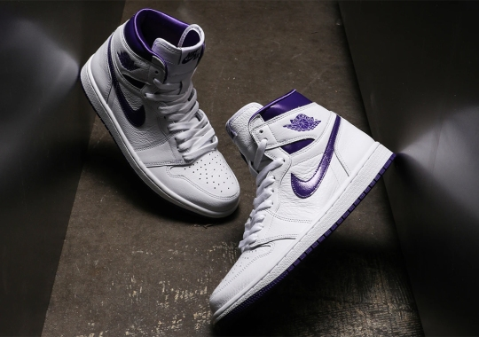 "The Air Jordan 1 Retro High OG Womens ""Court Purple"" Releases Tomorrow"