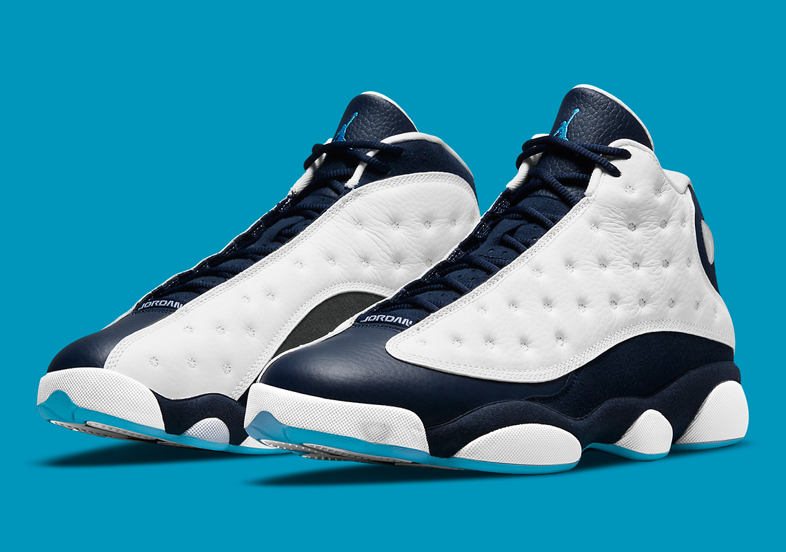 Air Jordan 13 Obsidian Powder Blue 414571-144 | SneakerNews.com