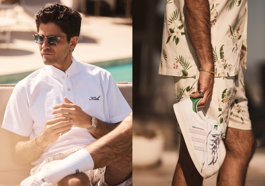 Adrian Grenier Stars In adidas x Kith Classics Summer 2021 Lookbook