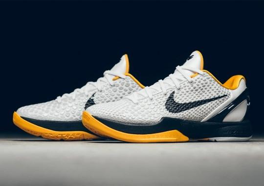 """Where To Buy The Nike Kobe 6 Protro """"White Del Sol"""""""