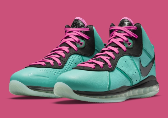 """Official Images Of The Nike LeBron 8 """"South Beach"""""""