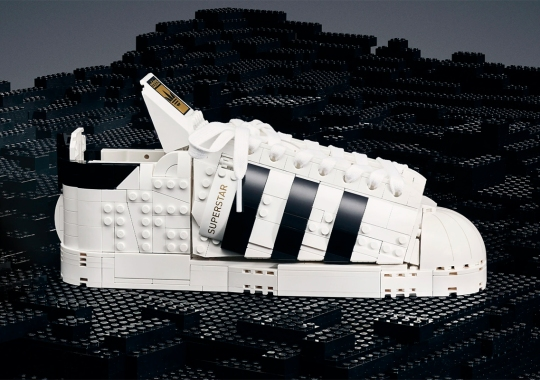 LEGO And adidas Are Releasing An Actual Toy Superstar
