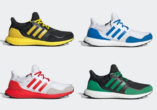 adidas And LEGO Collaboration Continues Stacking Up With Four New UltraBoost Colorways