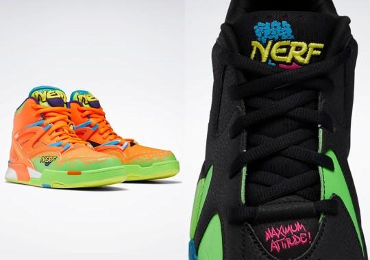 NERF Adds Their Signature Colors To Reebok's Kamikaze II And Pump Omni Zone II