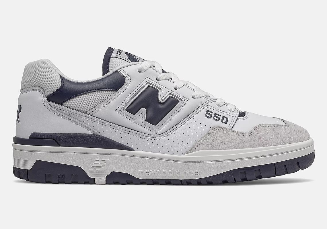 New Balance 550 White/Navy BB550WA1 | SneakerNews.com