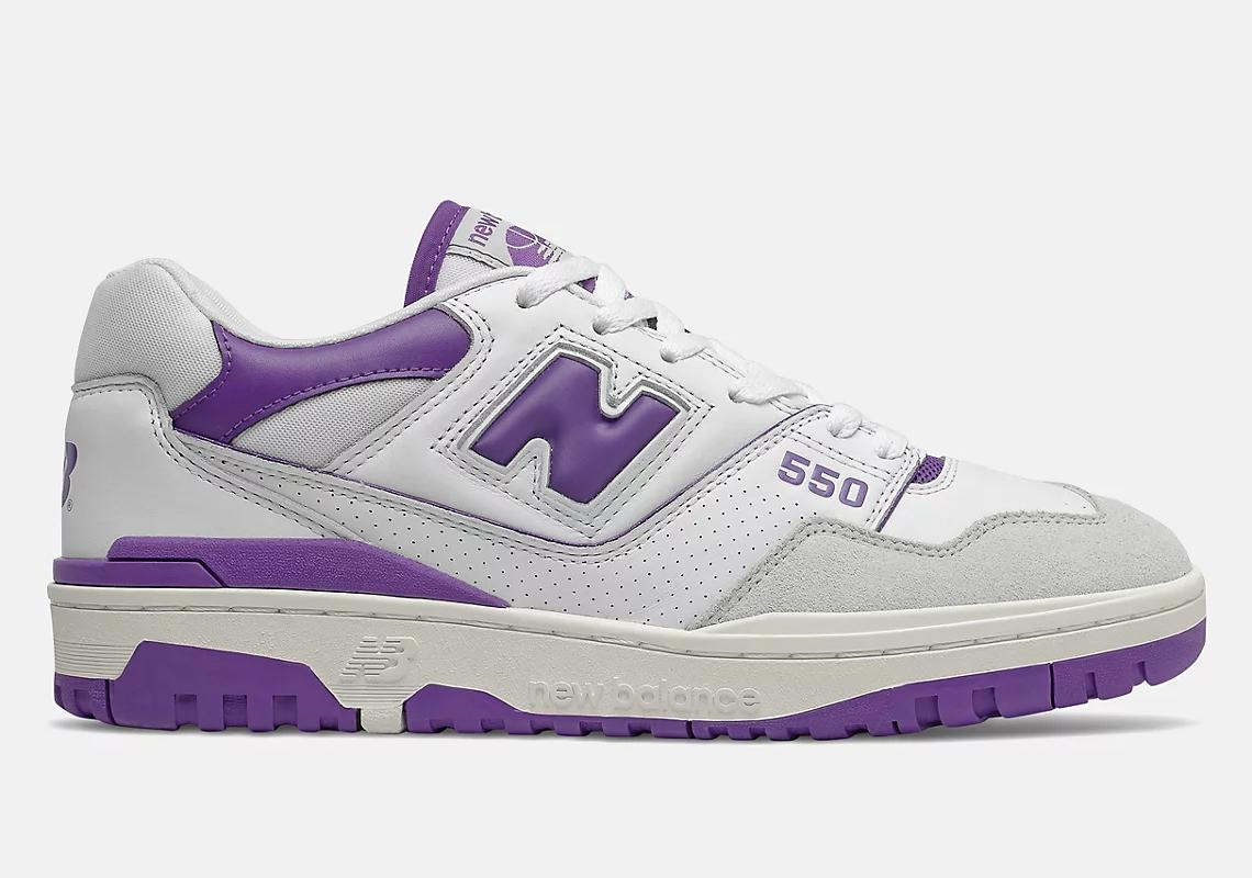 New Balance 550 White Purple BB550WR1 Release Info   SneakerNews.com
