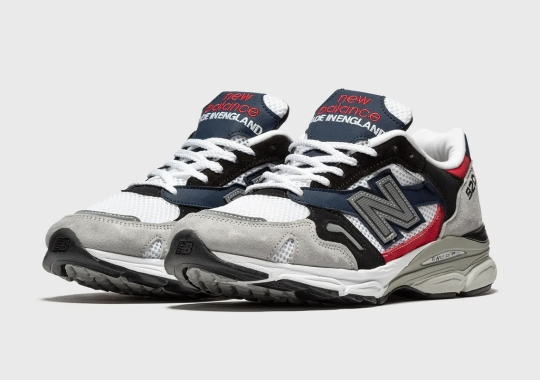 The New Balance 920 Made In England Brings In Matching Flag Colors