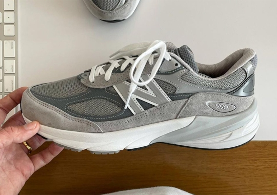 The New Balance 990v6 Is Coming In 2022