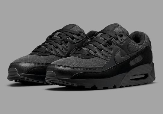 The Nike Air Max 90 Goes Stealthy With A Wealth Of Materials