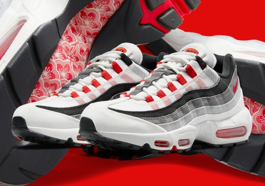 """The Nike Air Max 95 """"Comet"""" Colorway Receives A Japanese Transformation"""