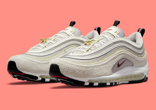 """A Suede-Clad Nike Air Max 97 Joins The """"First Use"""" Pack"""
