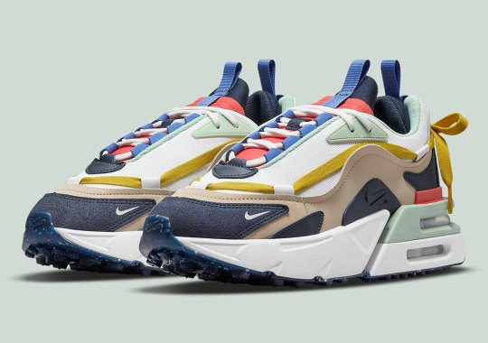 Obsidian Overlays Are Just The Start Of This Multi-colored Nike Air Max Furyosa