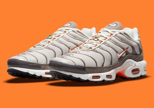 """This Nike Air Max Plus """"First Use"""" Features Colors Of A Past Shoebox"""
