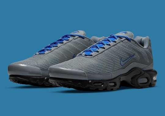 This Reflective Nike Air Max Plus Ditches Standard TPU Overlays For Sleek Taping