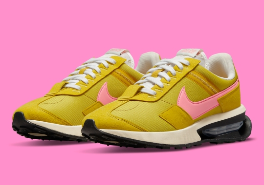 The Nike Air Max Pre-Day Shines In Yellow And Pink