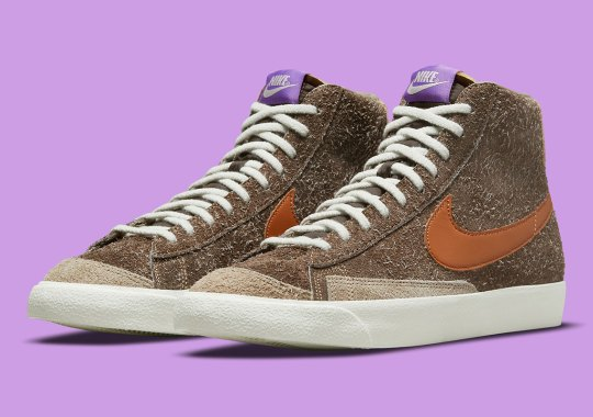 Hairy Suedes Cover This Outdoor-Friendly Nike Blazer Mid '77