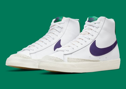 An Upcoming Nike Blazer Mid '77 Reps The Joker's Colors