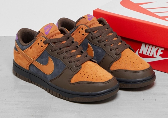 """Nike Dunk Low """"Cider"""" Draws In Fall-Friendly Colors"""