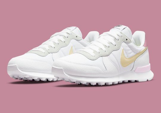 An Upcoming Nike Internationalist Channels A Muted Mix of Pastels
