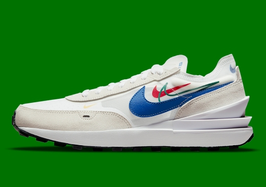 """The Nike Waffle One Is Next To Join The Multi-Swooshed """"Summer Of Sports"""" Pack"""