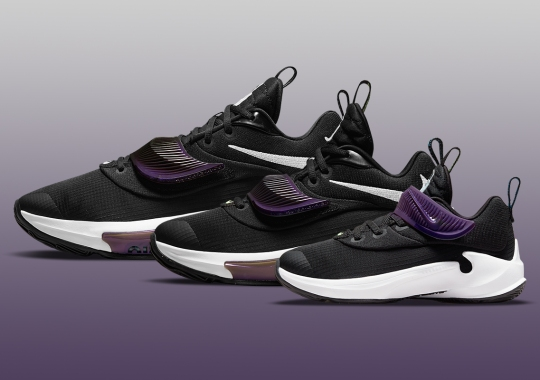 """The Nike Zoom Freak 3 """"Project 34"""" To Release In Full Family Sizes"""