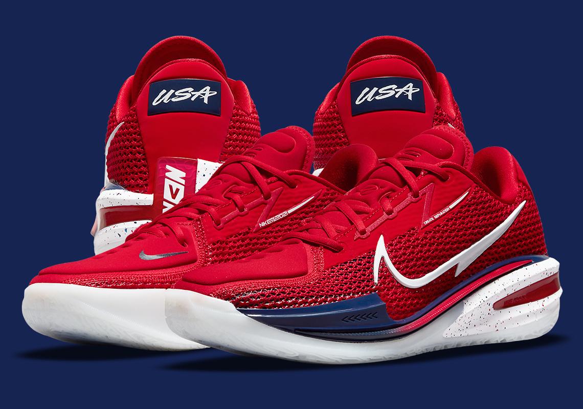 Nike Zoom GT Cut Team USA CZ0175-604 | SneakerNews.com