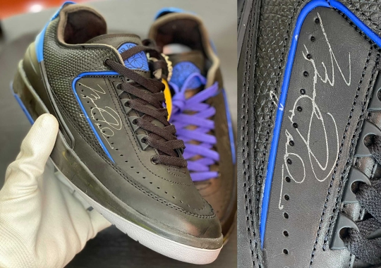 Detailed Images Of The Off-White x Air Jordan 2 Low In Black