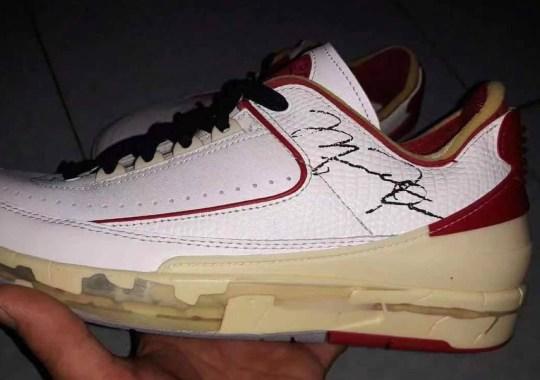Off-White x Air Jordan 2 Low Features Michael Jordan's Autograph