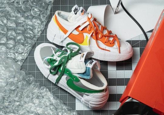 Where To Buy The sacai x Nike Blazer Low