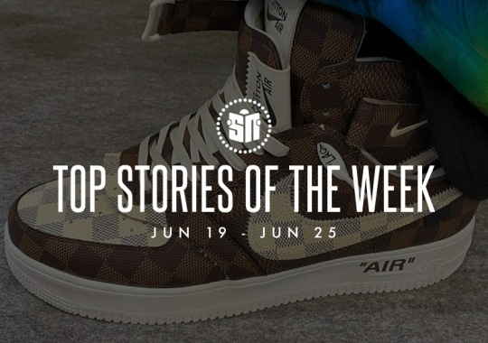 Eleven Can't Miss Sneaker News Headlines from June 19th to June 25th