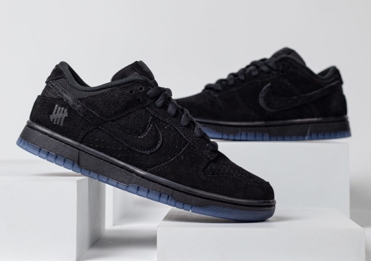 """Undefeated And Nike Expand The """"Dunk vs. AF-1"""" Pack With This Blacked Out Dunk Low"""