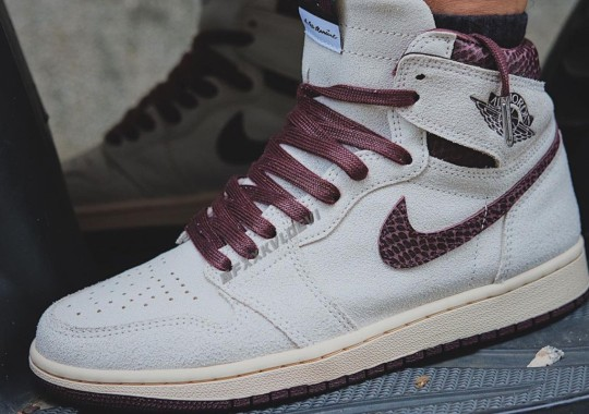 A Ma Maniére Continues Masterful 2021 Collaborations With An Air Jordan 1 Retro High OG